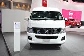Nonthaburi - November 28: Nissan Nv350 Urvan Car On Display At The 30Th Thailand International Motor