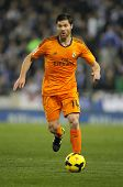 BARCELONA - JAN, 12: Xabi Alonso of Real Madrid during the Spanish League match between Espanyol and