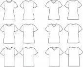 stock photo of knitwear  - Vector illustration of t - JPG