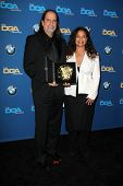 LOS ANGELES - JAN 25:  Glenn Weiss, Debbie Allen at the 66th Annual Directors Guild of America Award