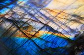 image of labradorite  - Labradorite mineral background  - JPG