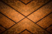 image of wainscoting  - Dark abstract ooden panel texture or background - JPG
