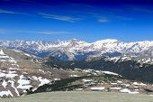 picture of stratus  - Rocky Mountain National Park in Colorado USA - JPG