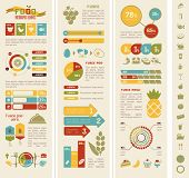 picture of hamburger-steak  - Food Infographic Template - JPG