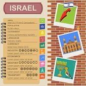 pic of israel israeli jew jewish  - Israel infographics statistical data sights - JPG