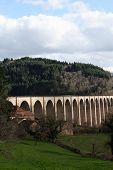 stock photo of souse  - The viaduct of Mussy - JPG