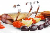 image of plate fish food  - diet food  - JPG
