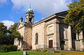 stock photo of church-of-england  - St John the Baptist Church Buxton Derbyshire England UK Western Europe - JPG