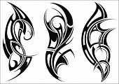 pic of maori  - Maori styled tattoo pattern for a shoulder - JPG