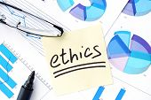 foto of ethics  - Papers with graphs - JPG