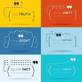 picture of motivation talk  - Vector quote backgrounds set - JPG