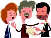 picture of debate  - People debating and talking vector illustration cartoon character - JPG
