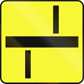 stock photo of traffic rules  - Polish traffic sign additional panel to specify the meaning of other signs - JPG