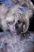 pic of faerie  - Model with stage makeup - JPG