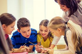 stock photo of teachers  - education - JPG