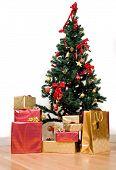 Постер, плакат: Рождественская елка в доме