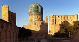 picture of mosk  - Evening view of Bibi - JPG