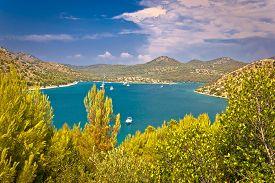 picture of safe haven  - Telascica bay yachting and sailing destination on Dugi otok island in Dalmatia Croatia - JPG