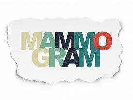 picture of mammogram  - Medicine concept - JPG