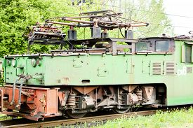 foto of former yugoslavia  - electric locomotive - JPG