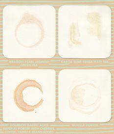 pic of vanilla  - Beverage rings on coasters - JPG