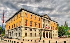 stock photo of annecy  - City hall  - JPG