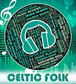 picture of celtic  - Celtic Folk Representing Sound Tracks And Melody - JPG