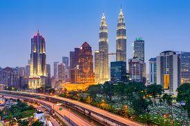 stock photo of kuala lumpur skyline  - Kuala Lumpur - JPG