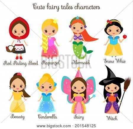 Cute kawaii fairy