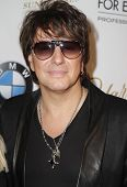 NEW YORK - FEBRUARY 17: Richie Sambora presents White Trash Beautiful collections for Mercedes-Benz