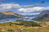 Landscape From Ladies View Is A Scenic Viewpoint On The Ring Of Kerry Tourist Route. Ireland poster