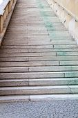 stock photo of munich residence  - Staircase in the courtyard of the  - JPG
