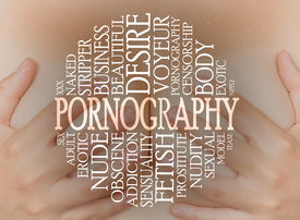 pic of pornography  - Pornography cloud concept with a pornography background - JPG