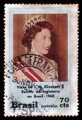 Elizabeth Ii, Queen Of England In Brazil