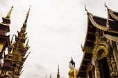 picture of raja  - Wat Raja Mon Thian  - JPG