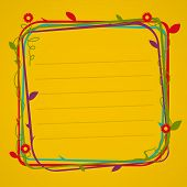 picture of loach  - Flower frame - JPG