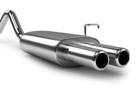 foto of noise pollution  - Automobile exhaust pipe - JPG