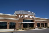 JACKSONVILLE, FL-FEBRUARY 16, 2014: An LA Fitness health club in Jacksonville. LA Fitness is a priva