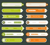 picture of number 7  - Modern infographics options banner - JPG