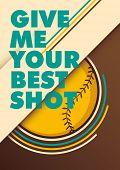 pic of hitter  - Modern baseball poster - JPG