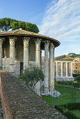 stock photo of hercules  - The Temple of Hercules Victor  - JPG