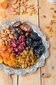 image of ground nut  - A mixture of dried fruits and nuts - JPG