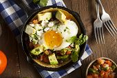 foto of cilantro  - Homemade Heuvos Rancheros with Avocado and Cilantro - JPG