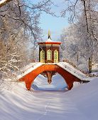 image of tsarskoe  - The Cross Bridge in the China Village - JPG