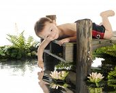 foto of dock a pond  - An adorable preschool  - JPG
