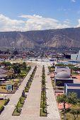 stock photo of northern hemisphere  - Center of the world Mitad del Mundo south america - JPG