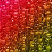 stock photo of wonderful  - Abstract illustrated wonderful glass design background pattern - JPG
