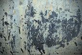 stock photo of tar  - Metal texture or background with black tar - JPG