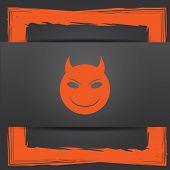 image of evil  - Evil icon - JPG