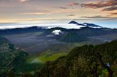 stock photo of bromo  - Landscape of MT - JPG